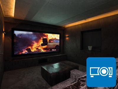 Home cinema design and installation